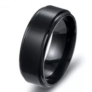 Other - 9mm Black Stainless Steel & Titanium Band